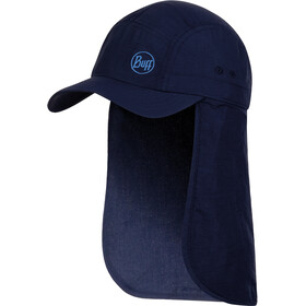 Buff Bimini Cap Kids Solid navy